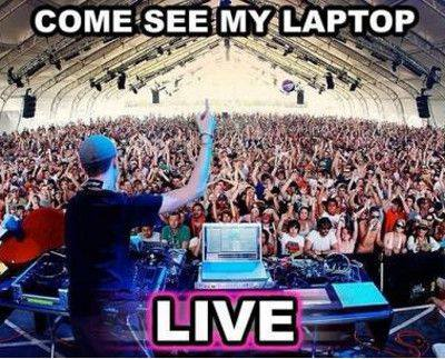 Dj laptop