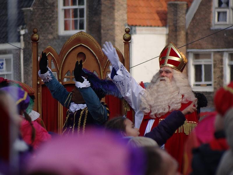 Sinterklaas groet onze grootste vriend
